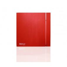 Вентилятор для ванной Soler & Palau SILENT 100 CZ DESIGN 4C RED