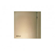 Вентилятор для ванной Soler & Palau SILENT 100 CZ DESIGN 4C CHAMPAGNE