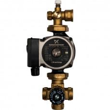 STOUT Насосно-смесительный узел с термостатическим клапаном; Grundfos UPSO 25-65 130