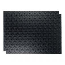STOUT мат для теплого пола с бобышками черный 1100х800х1 (без теплоизолирующего слоя)