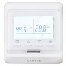 Терморегулятор EASTEC E 51.716 (3.5 кВт) электронный, программируемый , встраиваемый, два датчика температуры - встроенный и выносной.